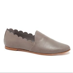 Loeffler Randall dawn flats in grey